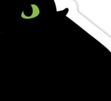 toothless (larger). Sticker