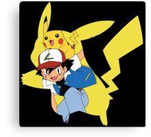 Pikachu, I Choose You! Canvas Print