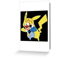 Pikachu, I Choose You! Greeting Card