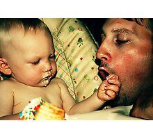 Justin and Wyatt Photographic Print
