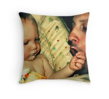 Justin and Wyatt Throw Pillow