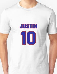National baseball player Justin Upton jersey 10 T-Shirt