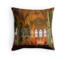St. John's Cathedral.  Savannah, Ga Throw Pillow