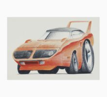Plymouth Superbird by Glens Graphix Kids Tee