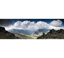 Ogwen Valley Panorama Photographic Print