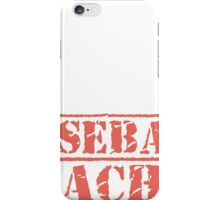 8th Day Baseball Coaches T-shirt iPhone Case/Skin