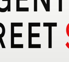 Regent Street London Street Sign Sticker