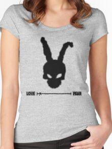 Frank the rabbit Women's Fitted Scoop T-Shirt