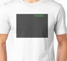 Metal Gear Solid - HIDEO SCREEN T-Shirt