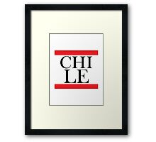 Chile Design Framed Print