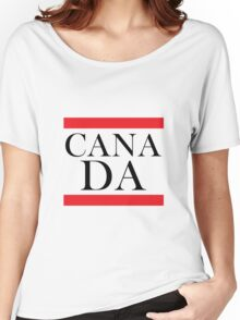 Canada Design Women's Relaxed Fit T-Shirt