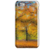 Greenwich Park Autumn Art iPhone Case/Skin