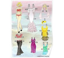 Paper Doll - Amy Poster