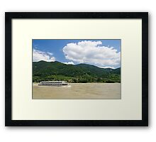 Blue Danube Framed Print
