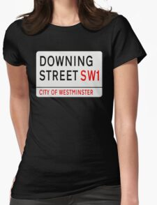 Downing Street London Street Sign T-Shirt