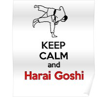Keep Calm HARAI GOSHI! Poster