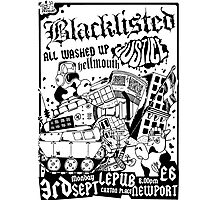 BLACKLISTED JUSTICE @ LEPUB Photographic Print