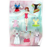 Paper Doll - Delia Poster