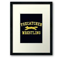Foxcatcher Wrestling Framed Print