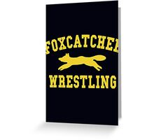 Foxcatcher Wrestling Greeting Card