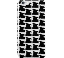 Staffy Dog Head is on repeat iPhone Case/Skin