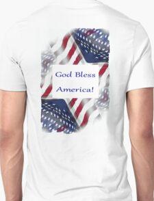 God Bless American Pouch Unisex T-Shirt
