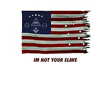 Illuminati flag Photographic Print