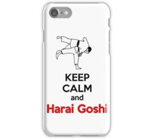 Keep Calm HARAI GOSHI! iPhone Case/Skin