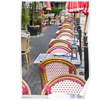 Wicker Chairs Poster