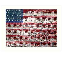 American Drag (Mixed Material Assemblage)- Art Print