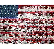 American Drag (Mixed Material Assemblage)- Photographic Print