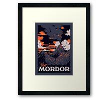 Visit Mordor Framed Print