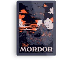 Visit Mordor Metal Print