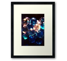 Bottled Marbles (Abstract) Framed Print