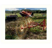 photoj Farming Equipment Art Print