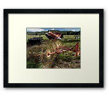 photoj Farming Equipment Framed Print