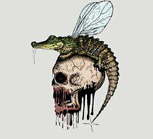 Crocodile skull fly Unisex T-Shirt