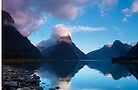Milford Sound, New Zealand by Andrew  Walmsley