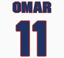 National baseball player Omar Vizquel jersey 11 by imsport