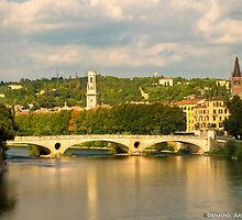 Sunset in Verona by CJVisions