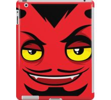 Red Face iPad Case/Skin