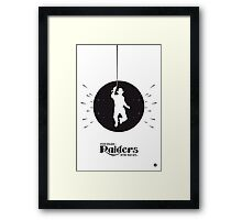 The Black Collection' Raiders Framed Print