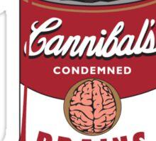 Zombie Brains Soup Sticker