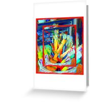 My Paint Brushes  Greeting Card