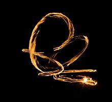 Fire Twirl by Mark Atkins