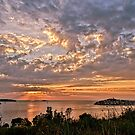 Croatian Sunset by Colin Metcalf
