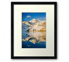 Snowdon, Winter. Framed Print