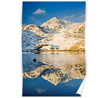 Snowdon, Winter. Poster