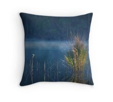 Where Dreams Like Rivers Flow Throw Pillow