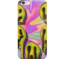 Acid Smileys iPhone Case/Skin